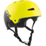 TSG Evolution Graphic Design Helmet divided acid yellow-black